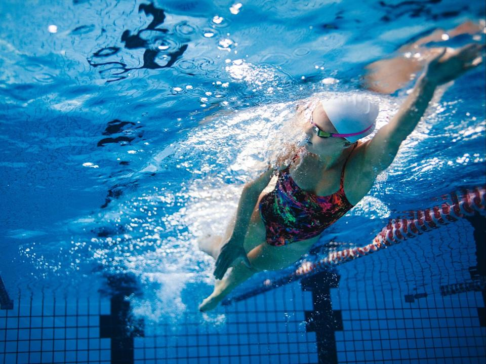 <p>Indoor swimming pools will only be allowed to reopen from 12 April, two weeks after outdoor swimming pools reopen from 29 March</p> (Getty/iStock)