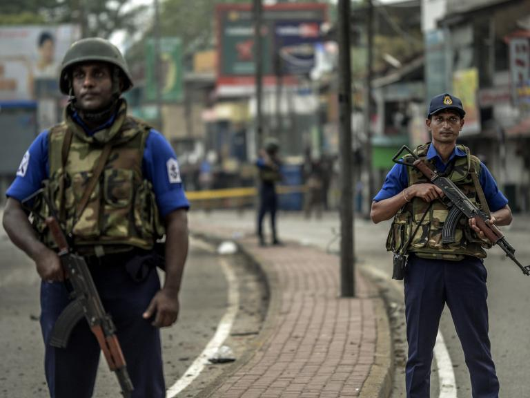 Sri Lanka attacks: Isis claims responsibility for Easter Sunday bombings