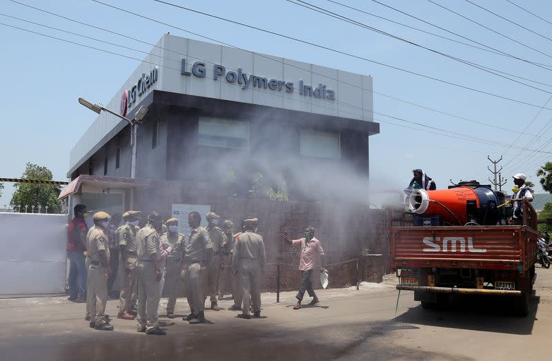 India arrests South Korean CEO, 11 others for gas leak at LG Polymers