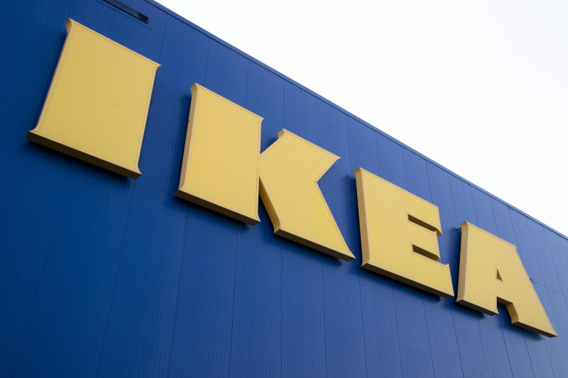 This photo shows an IKEA location in Philadelphia, Monday, Jan. 6, 2020. IKEA has agreed to pay $46 million to the parents of a 2-year-old boy who died of injuries suffered when a 70-pound recalled dresser tipped over onto him, the family's lawyers said Monday. (AP Photo/Matt Rourke)