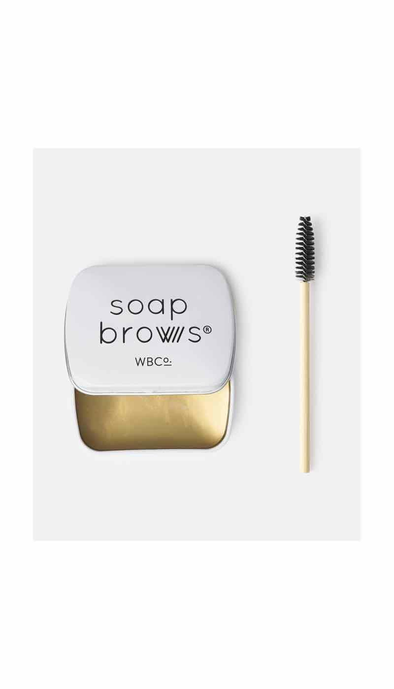 """<p><strong>West Barn Co</strong></p><p>beautybay.com</p><p><strong>$15.50</strong></p><p><a href=""""https://go.redirectingat.com?id=74968X1596630&url=https%3A%2F%2Fwww.beautybay.com%2Fp%2Fwest-barn-co%2Fsoap-brows%2F&sref=https%3A%2F%2Fwww.oprahmag.com%2Fbeauty%2Fskin-makeup%2Fg31101896%2Fbest-sweat-proof-makeup-products%2F"""" rel=""""nofollow noopener"""" target=""""_blank"""" data-ylk=""""slk:SHOP NOW"""" class=""""link rapid-noclick-resp"""">SHOP NOW</a></p><p>""""To keep brows in place all day and all night, even on the hottest days, I swear by Soap Brows,"""" says Spickard. """"It outlasts every single brow gel I've ever used."""" </p>"""