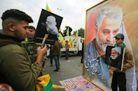 Tens of thousands of Iraqis, including Prime Minister Adel Abdel Mahdi, attended a mass ceremony to honor Soleimani