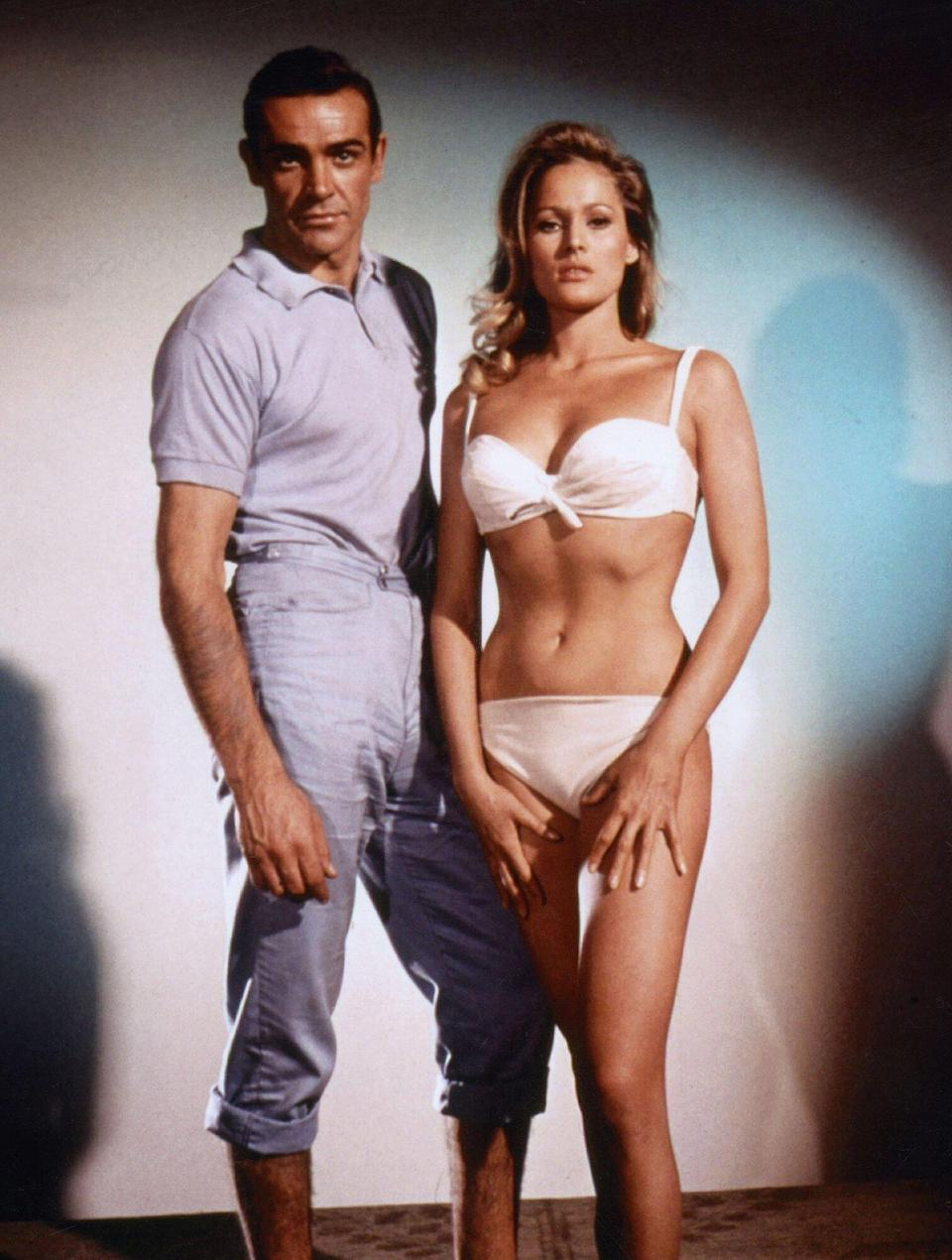Ursula Andress, Sean Connery