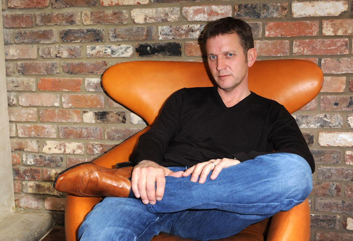 """Television talk show host Jeremy Kyle during a portrait session at the Hoxton Hotel in east London, ahead of the launch of his new book """"I'm only being honest""""."""