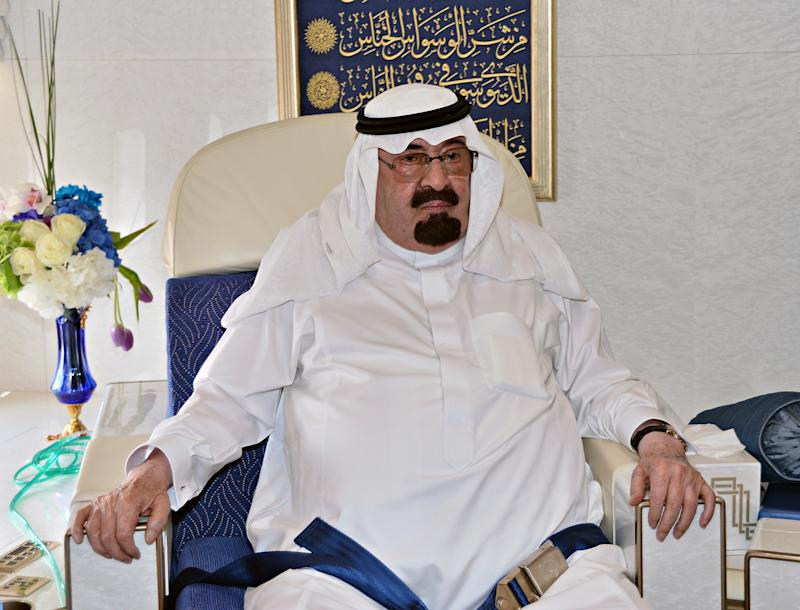 A handout picture released by the Saudi Press Agency (SPA) on June 21, 2014 shows Saudi King Abdullah bin Abdul Aziz al-Saud