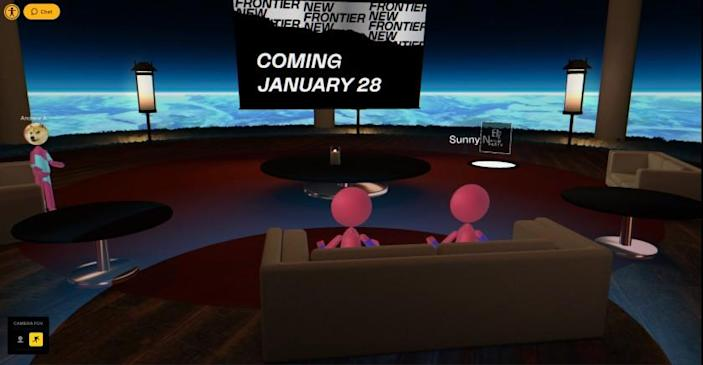 Sundance has created an elaborate virtual space that is open to all attendees with New Frontier access to come and hang out online or in virtual reality.