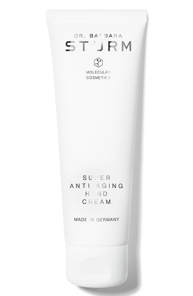 <p>The hyaluronic acid in this <span>Dr. Barbara Sturm Super Anti-Aging Hand Cream</span> ($65) works to deeply nourish, while the vitamin E helps to protect from free radical damage. It's nourishing and luxurious.</p>