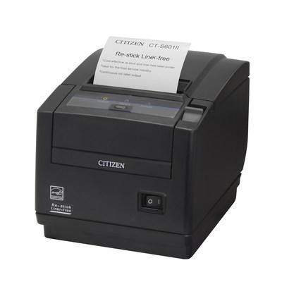 Citizen announces CT-S601IIR - Point of Sale Re-stick, Liner-free Printing Solution