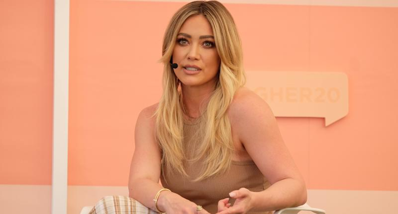 Hilary Duff (Photo by Sarah Morris/Getty Images)