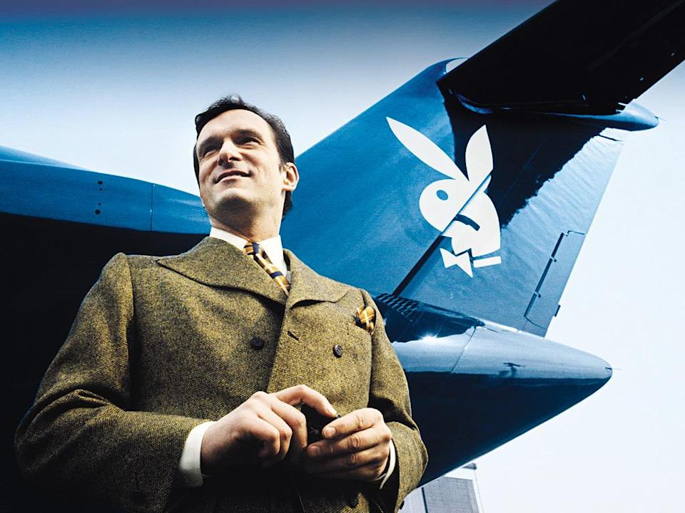 "Work Hard, Play Hard""I was always a dreamer,"" says Hefner (in front of his Big Bunny jet in 1970). ""And I did everything I could to make that dream come true."" Hefner turns 90 April 9."