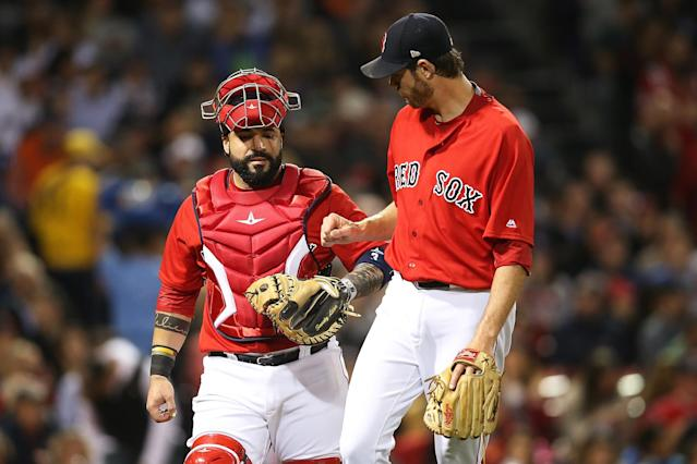 The Red Sox wrapped up their second straight AL East title on Friday. (Getty Images)