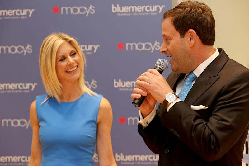 Marla and Barry Beck, Bluemercury Founders, greet customers on January 13, 2016 at Bluemercury at Macy's Union Square in San Francisco, CA, Wednesday, January 13, 2016 in San Francisco, CA. (Sammy Dallal / AP Images for Macy's)
