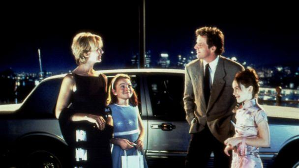 PHOTO: Natasha Richardson, left, Lindsay Lohan and Dennis Quaid in a scene from 'The Parent Trap.' (Moviestore/Shutterstock)