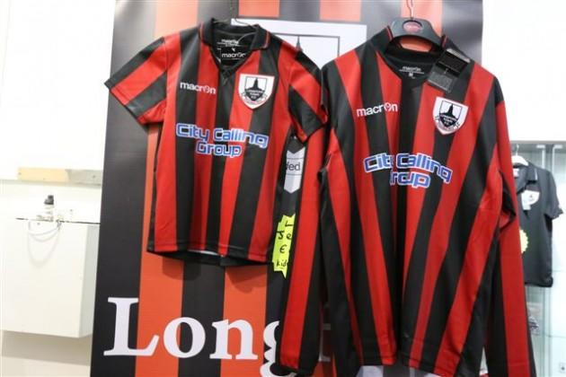 Longford Town new kit