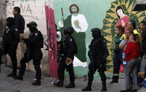 More than 40,000 people have been killed in rising drug-related violence in Mexico since December 2006