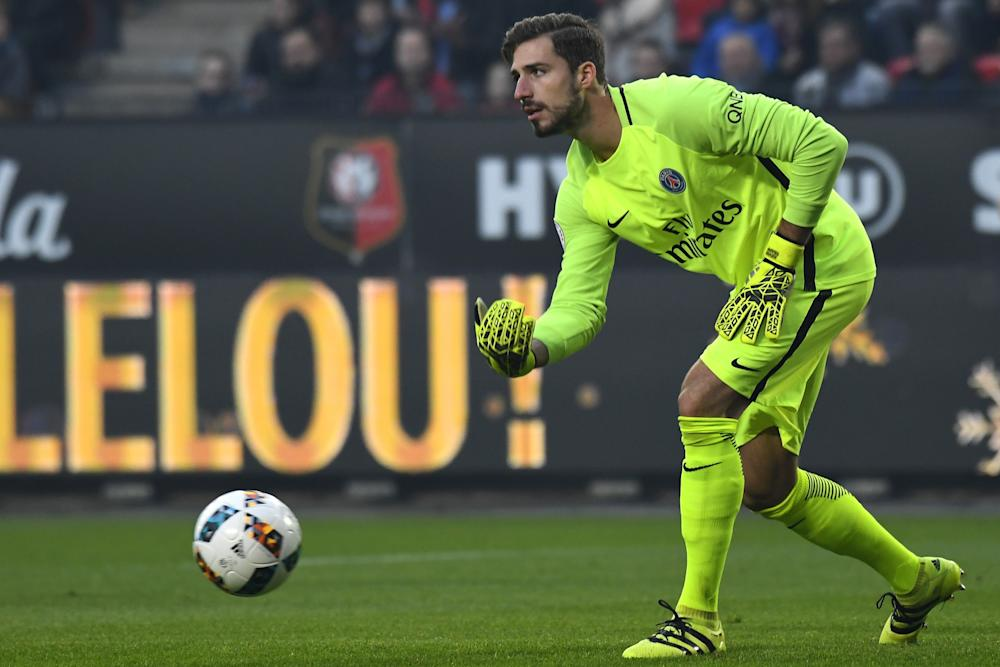Kevin Trapp Rennes-PSG 01142017