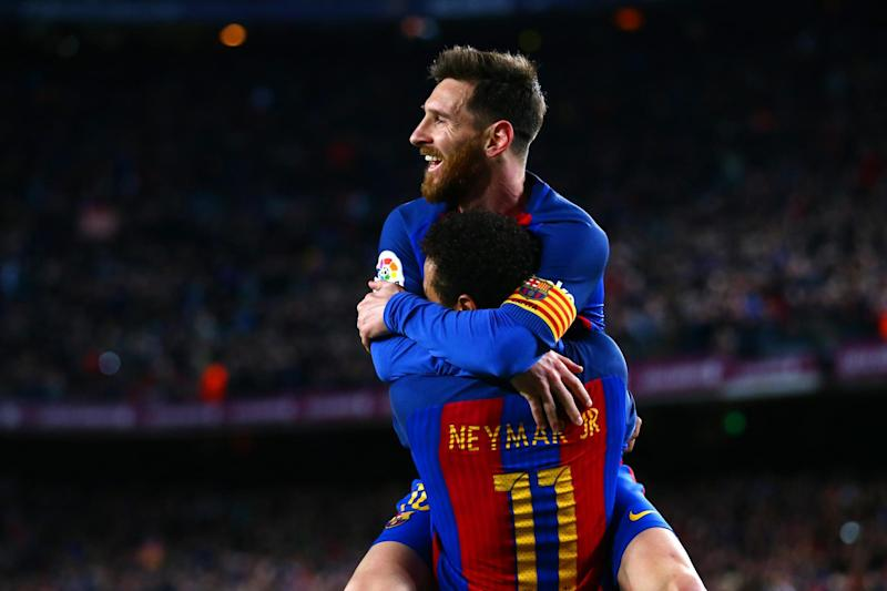 Messi still eager for his friend Neymar to return: Getty Images