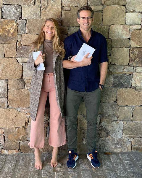 "<p>The couple shared a picture posing with their ballots, which for Canadian-born Reynolds <a href=""https://www.elle.com/uk/life-and-culture/g29663992/blake-lively-ryan-reynolds-trolling/"" rel=""nofollow noopener"" target=""_blank"" data-ylk=""slk:marked his first time voting in a US election."" class=""link rapid-noclick-resp"">marked his first time voting in a US election.</a> The couple's posts weren't all serious though (are they ever?) with a whole 'thing' happening over<a href=""https://www.elle.com/uk/life-and-culture/a34459879/blake-lively-fake-shoes-instagram/"" rel=""nofollow noopener"" target=""_blank"" data-ylk=""slk:Lively's fake 'Christian Louboutin's"" class=""link rapid-noclick-resp""> Lively's fake 'Christian Louboutin's</a> on social media. </p><p><a href=""https://www.instagram.com/p/CGqFS9CBf2Q/"" rel=""nofollow noopener"" target=""_blank"" data-ylk=""slk:See the original post on Instagram"" class=""link rapid-noclick-resp"">See the original post on Instagram</a></p>"