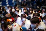 Twenty-year-olds are traditionally feted each January on 'coming-of-age day' with a formal ceremony
