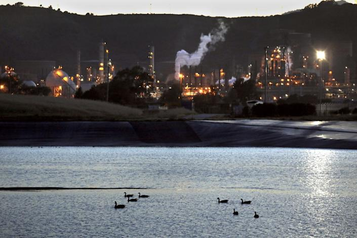 In Richmond, the Chevron refinery is one of the major employers.