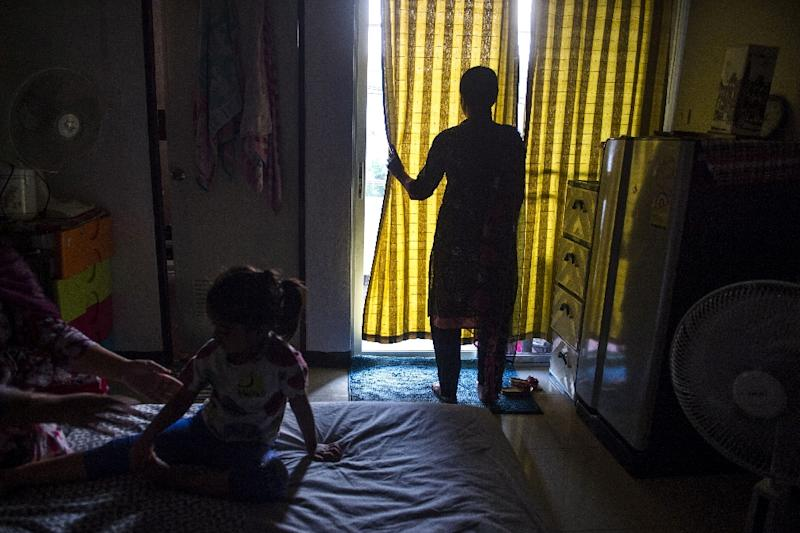 An estimated 900 adults remain in Thailand's grubby immigration detention centres (AFP Photo/Romeo GACAD)