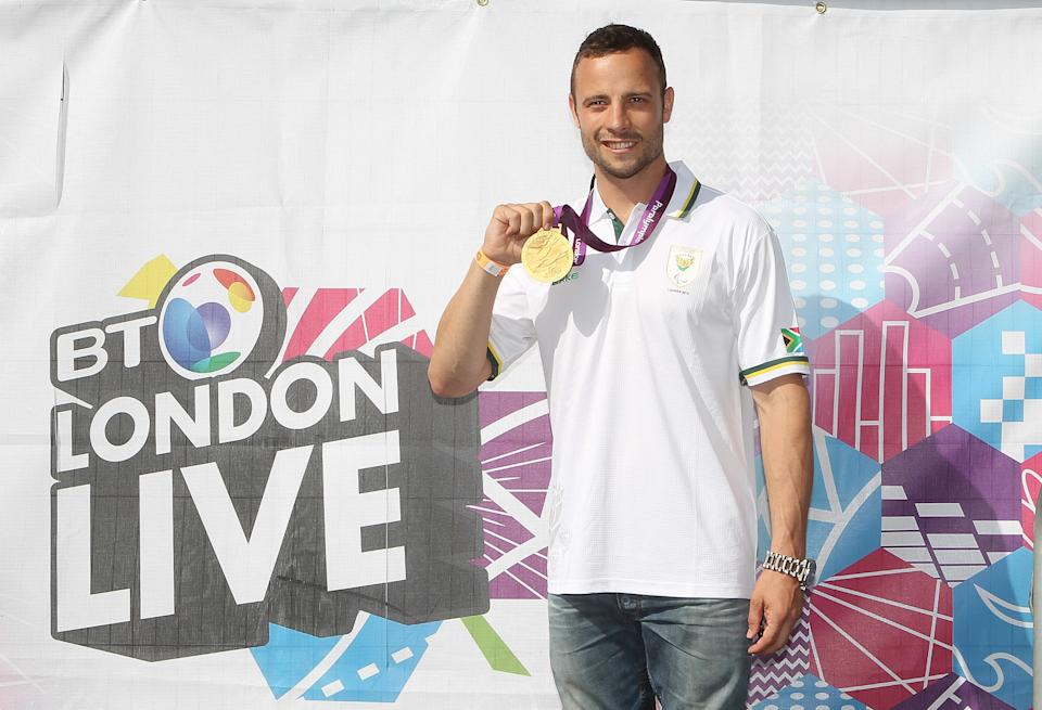 BT London Live welcomed paralympian Oscar Pistorius to Trafalgar Square. South African Oscar Pistorius provided a fitting finale to the Paralympics track and field competition last night, taking home the gold in the T44 400m