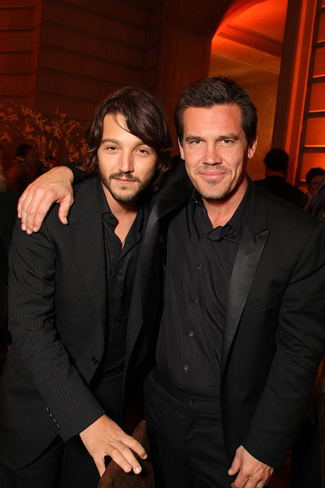 "<a href=""http://movies.yahoo.com/movie/contributor/1804575242"">Diego Luna</a> and <a href=""http://movies.yahoo.com/movie/contributor/1800019611"">Josh Brolin</a> at the San Francisco premiere of <a href=""http://movies.yahoo.com/movie/1810041985/info"">Milk</a> - 10/28/2008"