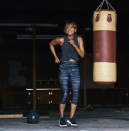 """<p>Halle talked on <a href=""""https://www.womenshealthmag.com/fitness/a26839980/halle-berry-favorite-low-impact-workout-instagram/"""" rel=""""nofollow noopener"""" target=""""_blank"""" data-ylk=""""slk:Instagram"""" class=""""link rapid-noclick-resp"""">Instagram</a> about the importance of stretching and having a warm-up and cool-down plan—she's a fan of cat-cow, child's pose, and cobra stretch from yoga. """"You can't just jump into exercise,"""" she said. """"Like if you've never kickboxed, don't just go to a gym when you're 35 and think you're just gonna tear it up.""""</p>"""