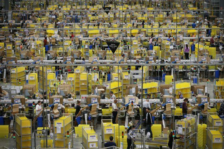 Europe has historically failed to create real competitors to tech giants like Amazon (Peter Macdiarmid / Staff)