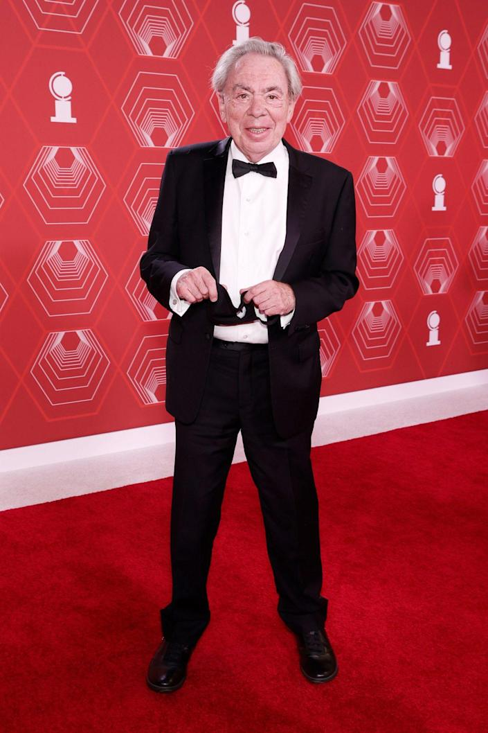 <p>Famed broadway composer Sir Andrew Lloyd Webber attends the 2021 Tony Awards. </p>