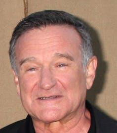 """<span class=""""caption"""">Robin Williams was diagnosed with diffuse Lewy body disease only after his death in 2014.</span> <span class=""""attribution""""><a class=""""link rapid-noclick-resp"""" href=""""https://www.shutterstock.com/image-photo/los-angeles-jul-29-robin-williams-148112486?src=J8R_K4p5YGMxOYlf65WqZQ-1-31"""" rel=""""nofollow noopener"""" target=""""_blank"""" data-ylk=""""slk:Kathy Hutchins/Shutterstock.com"""">Kathy Hutchins/Shutterstock.com</a></span>"""