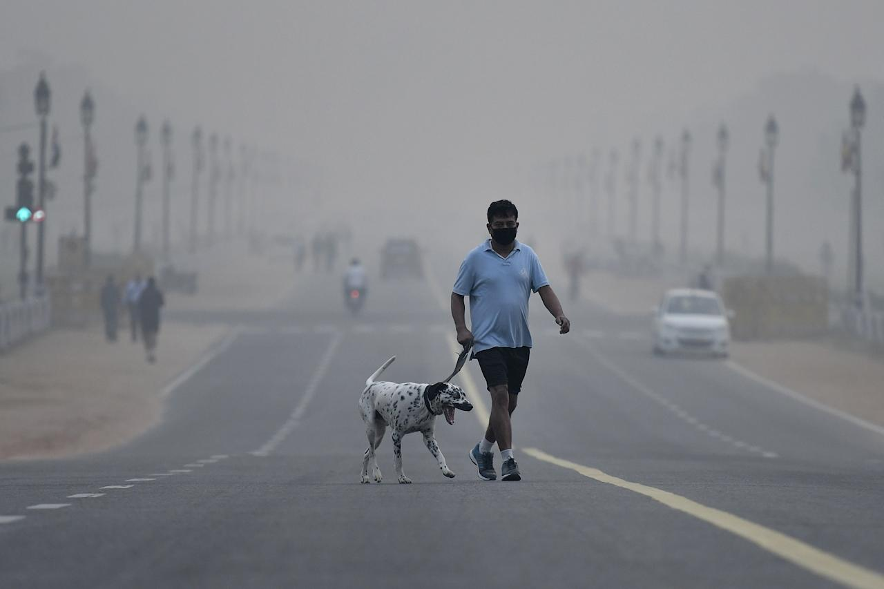 <p>Noxious air has historically plagued India's capital, but this year the mega-city's pollution is worse than ever </p>