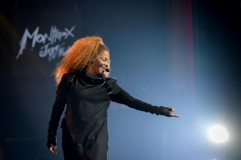 Janet Jackson performs on stage on June 30, 2019 in Montreux