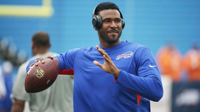 The former Bills quarterback appeared in 29 games with 17 starts over his four-year career in Buffalo.