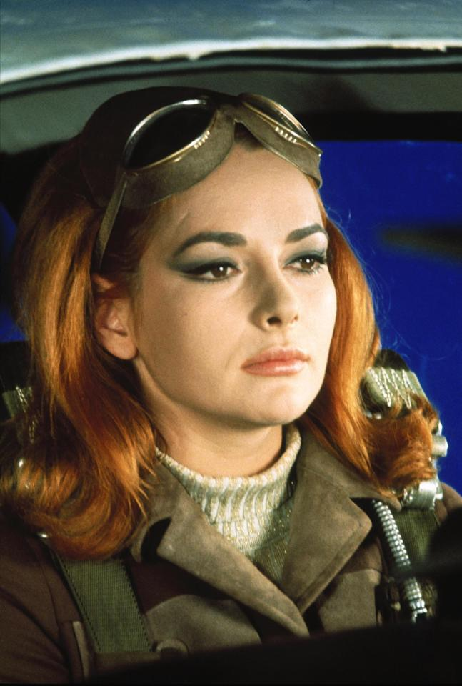 "This undated publicity photo provided by United Artists and Danjaq, LLC shows Karin Dor in a scene from the James Bond 1967 film, ""You Only Live Twice."" Initially, Bond girls were part of the aesthetic of the series. They had more transient roles. The film is included in the MGM and 20th Century Fox Home Entertainment Blu-Ray ""Bond 50"" anniversary set. (AP Photo/United Artists and Danjaq, LLC)"