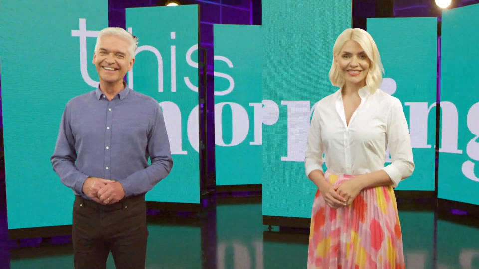 This Morning's Phillip Schofield and Holly Willoughby (ITV)