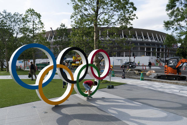 Tickets for the Tokyo Olympics are in high demand and millions missed out on tickets. (AP Photo/Jae C. Hong)