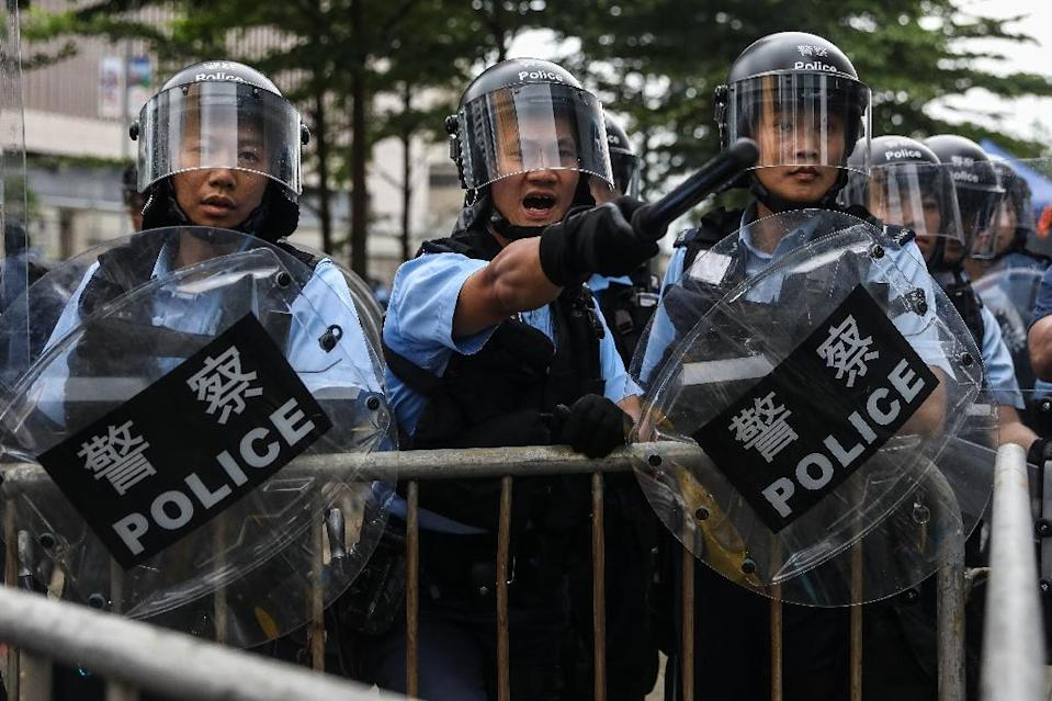 Opponents of the extradition proposal fear it will entangle Hong Kong people in China's notoriously opaque and politicised justice system, and threaten those critical of Beijing's policies (AFP Photo/DALE DE LA REY)