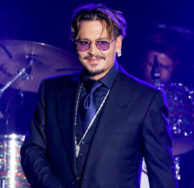 Johnny Depp gave a heartfelt speech about his family at a charity event, plus Joe and Melissa Gorga have a date night out