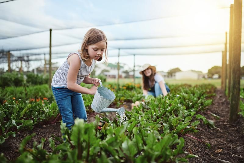 Teaching children to have an environmental conscience can help shape their future [Photo: Getty]
