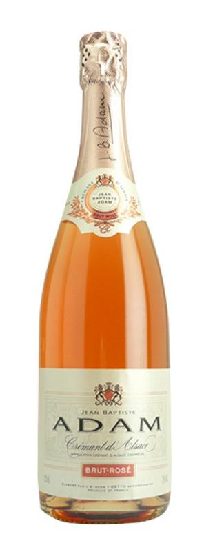 <p>This rosé wine with notes of strawberry from the Alsace region of France is made in the same style of champagne, but is a bargain because it's from a different area. $22.<br /></p>