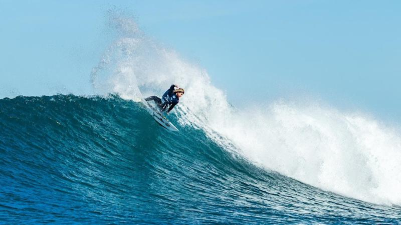 Australian surfer Wade Carmichael reached the final of the J-Bay event