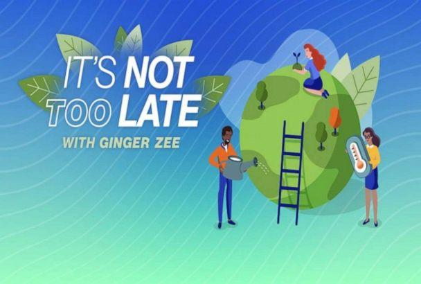 PHOTO: 'It's not too late' climate segment with Ginger Zee (ABC News)