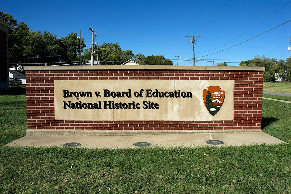 The Monroe School historic site of Brown v Board of Education, what is considered the start of the Civil rights movement in the United States.