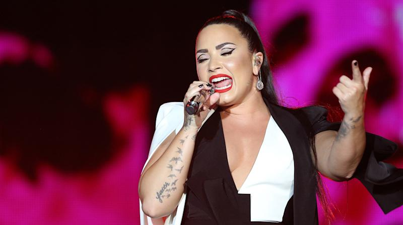 Demi Lovato Says She's 'A New Person' After Emotional Performance Of 'Sober'