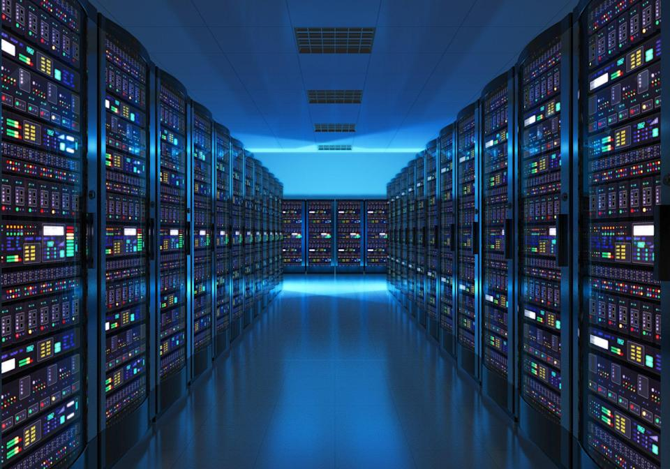 Data centres are costly to build and maintain, giving Big Tech companies an edge. But Tencent lags behind competitors at home and abroad. Photo: Shutterstock