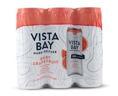"<p>aldi.us</p><p><a href=""https://www.aldi.us/en/grocery-goods/wine-beer/import-beers/import-detail/ps/p/vista-bay-ruby-grapefruit-hard-seltzer/"" rel=""nofollow noopener"" target=""_blank"" data-ylk=""slk:BUY NOW"" class=""link rapid-noclick-resp"">BUY NOW </a></p><p>The Aldi love is REAL. <a href=""https://www.delish.com/food-news/a27042533/aldi-hard-seltzer-line/"" rel=""nofollow noopener"" target=""_blank"" data-ylk=""slk:In April, the fan-favorite discount retailer"" class=""link rapid-noclick-resp"">In April, the fan-favorite discount retailer</a> launched its own line of hard seltzer, and they're SO cheap we'll take 10. I mean, it's only $5.89 for a 6-pack of 12 ounce cans. </p>"