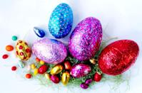 "<p>The two holidays are always going head-to-head to have <a href=""http://ksoo.com/do-americans-spend-more-money-on-candy-for-easter-or-halloween/"" rel=""nofollow noopener"" target=""_blank"" data-ylk=""slk:the most candy sales"" class=""link rapid-noclick-resp"">the most candy sales</a>, usually coming close to each other. In fact, some years people buy more candy the <a href=""https://www.cnbc.com/2016/03/24/easter-wins-the-candy-battle.html"" rel=""nofollow noopener"" target=""_blank"" data-ylk=""slk:week before Easter"" class=""link rapid-noclick-resp"">week before Easter</a> than the week before Halloween, but that's because Halloween purchases are more spread out over the month leading up to the spooky night.</p><p><strong>RELATED:</strong> <a href=""https://www.goodhousekeeping.com/holidays/easter-ideas/g1034/easter-chocolate-eggs/"" rel=""nofollow noopener"" target=""_blank"" data-ylk=""slk:20+ Best Chocolate Eggs to to Fill Your Easter Basket"" class=""link rapid-noclick-resp"">20+ Best Chocolate Eggs to to Fill Your Easter Basket</a></p>"
