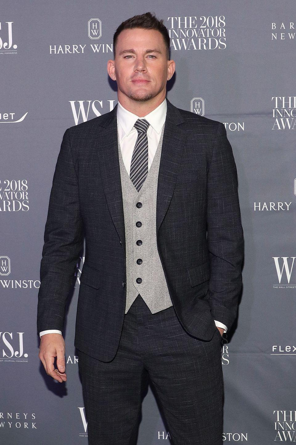 <p><strong>Hair</strong></p><p>Whether he's in costume or just walking the red carpet at an event, Tatum sure knows how to look stylish and debonair. </p>
