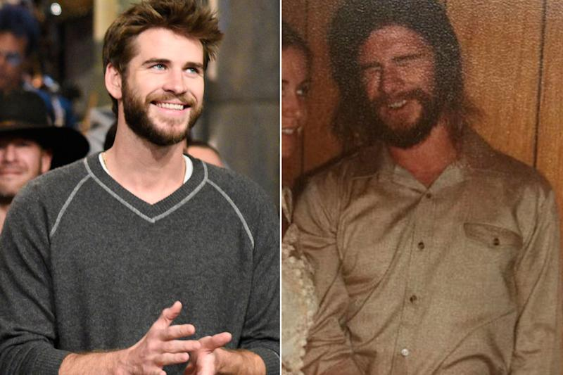 Liam Hemsworth Is the Spitting Image of His Father in This ...